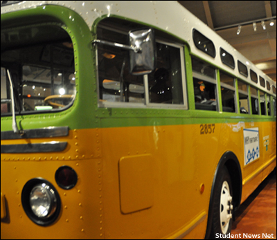 Montgomery City Bus 2857 - The Rosa Parks Bus