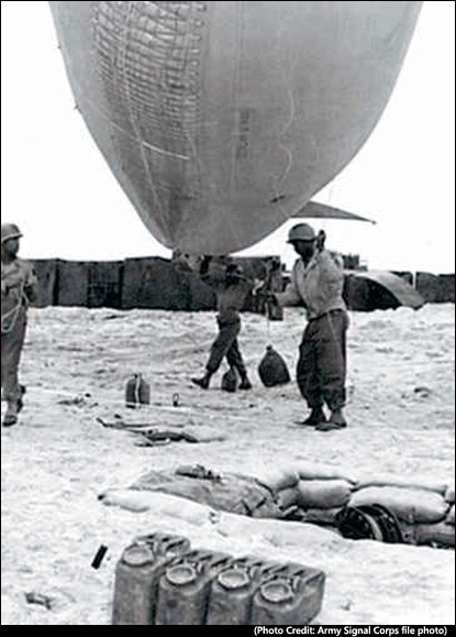 People of D-Day: 320th Barrage Balloon Battalion